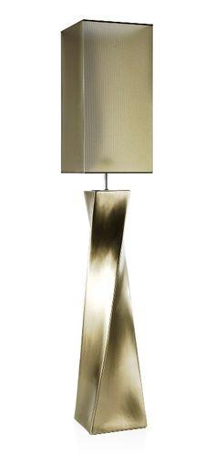 Lampadaire arc une lumi¨re couleur chrome Lampadaires