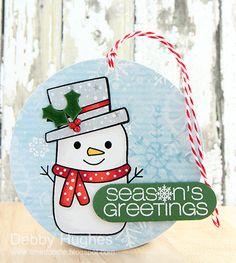 limedoodle, Hero Arts, CAS-ual Fridays, Christmas, Tag