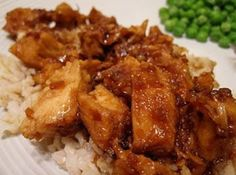 Crock Pot Honey Chicken and Rice