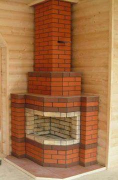 Brick Cladding, Brickwork, Diy Log Cabin, Outdoor Kitchen Plans, Stove Oven, Rocket Stoves, Garden Seating, My House, Pergola