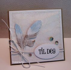 Pias Papir og Perler: Card Kit Swap with Nonni and Marina - take #3
