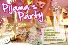 Pijamada  Ola Bueno Pues Esta Es Una Invitacion Para La cakepins.com
