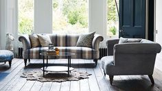 Exquisite Isabelle sofa by Parker Knoll. #design #interior #furniture #classic…