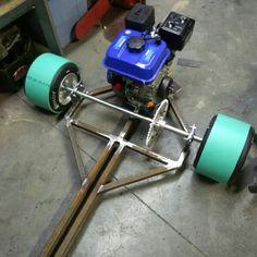 Drift trike - day one fabrication