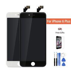 Meilleur AAA Qualité Remplacement lcd pantalla Pour iPhone 6 Plus écran lcd 5.5 pouce Écran Tactile ecran Digitizer Assemblée livraison cadeau