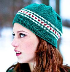 Secret Crush Knitting Hat Pattern, plus more from Free Pattern Friday from our inspiring friends over @ Craftsy.