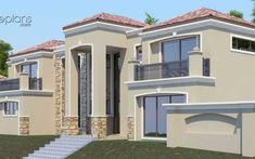 House Plans For Sale, House Plans With Photos, Beach House Plans, Dream House Plans, 4 Bedroom House Designs, 5 Bedroom House Plans, Modern House Floor Plans, Simple House Plans, Double Storey House Plans