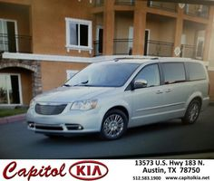 https://flic.kr/p/Fp9ACx | Happy Anniversary to Joe on your #Chrysler #Town & Country from Sean Wolf at Capitol Kia! | deliverymaxx.com/DealerReviews.aspx?DealerCode=RXQC