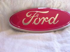 I can't wait to get this for my baby Ford! Ford Oval Emblem9 inch all modelspeel & by CustomizedEmblems, $39.99