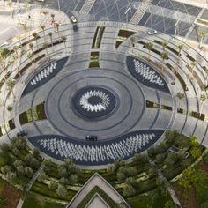 Burj Khalifa Park by SWA Group