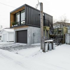 HO2 TINY SHIPPING CONTAINER HOME #ShippingContainerHomes