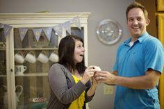 gender reveal party @Misty Schroeder Carter White  check this party out it is really cute