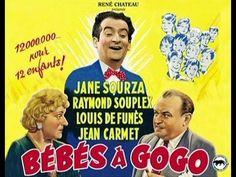Film Comédie Complet En Français - Bébés à gogo - Louis de Funès - YouTube