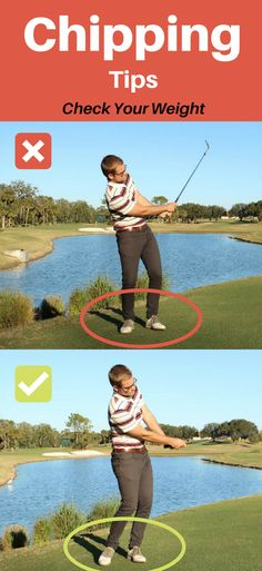 Chipping Tips - It can DESTROY your shortgame if you dont know where your weight is moving!