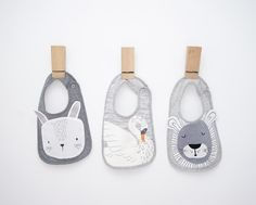 Just the sweetest bibs around via Mister Fly