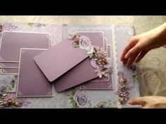 Wedding album a la rustic - YouTube