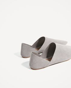 Image 4 of FLAT LEATHER SHOES from Zara Zero Drop Shoes, Barefoot Running, Zara, Calf Muscles, Minimalist Lifestyle, Feet Care, Sports Shoes, Types Of Shoes, Leather