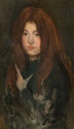 La toison rouge by James Abbott McNeill Whistler Hunterian Art Gallery Leeds Art Gallery, James Abbott Mcneill Whistler, Fawn Colour, Canadian Art, Adam And Eve, Art Uk, Art For Art Sake, Grey And Gold, Your Paintings