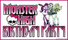 wwwmonster high   Vejam que lindas inspirações para Festinha Monster High!