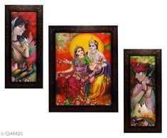 Checkout this latest Religious Paintings & frames Product Name: * Personal Home Paintings * Pack: Pack of 3 Country of Origin: India Easy Returns Available In Case Of Any Issue   Catalog Rating: ★4 (275)  Catalog Name: Trendy Personal Home Paintings Vol 13 CatalogID_447472 C127-SC1611 Code: 223-3244429-756