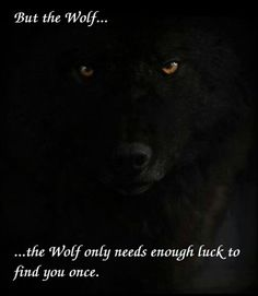 The Wolf needs no aid after that...
