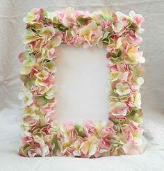 DIY::Flower petal frame