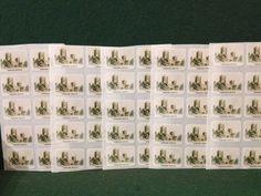 50 x High Quality Plastic Coated Stickers - FREE P&P - Wimborne Minster, E Devon Wimborne Minster, Scrapbook Stickers, Devon, Photo Wall, Scrapbooking, Plastic, Kit, Frame, Cards