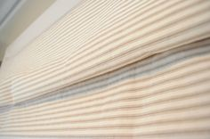 Puffer St. House Progress: Mini Blinds to Roman Shades - New Window Treatments for the Kitchen