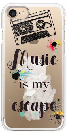 Casetify iPhone 7 Snap Case - Music by Li Zamperini Art http://amzn.to/2spd3Ru
