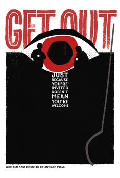 Get Out (2017) movie poster by Neven Udovicic