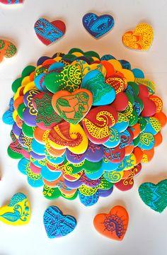 Sugar Bea's Blog: Sangeet Henna Cookies