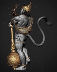 Hanuman is an ardent devotee of Lord Rama and one of the central characters in the various versions of the epic Ramayana found in the Indian subcontinent and Southeast Asia. He is considered to be the greatest devotee ever born on earth. Shiva Hindu, Shiva Art, Hindu Art, Hanuman Tattoo, Hanuman Images, Hanuman Photos, Hanuman Ji Wallpapers, Lord Shiva Hd Wallpaper, Ram Wallpaper