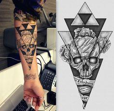 Hip - Dark - Sketch Tattoo Design Needed! Illustration & graphics #215 by Giulio Rossi