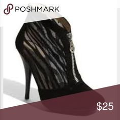 Michael by Michael Kors Futon sheer zebra booties Have been worn a fair amount but still in great condition only a couple minor scuffs as pictured most of the wear is on the soles super cute sheer zebra sides and in close toe and heel. MICHAEL Michael Kors Shoes Ankle Boots & Booties