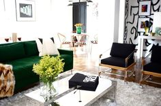 love the wall and dining chairs <3! (chairs from Design Legacy)