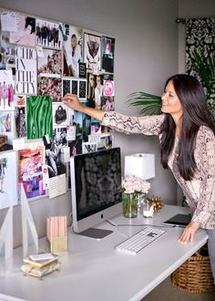 mood boards for a home office space is a must! | Skirt the Ceiling | skirttheceiling.com