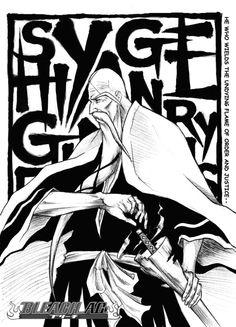 SHIGEKUNI YAMAMOTO GENRYUUSAI ... Bleach AC © *Geofffffff Bleach © Kubo T.