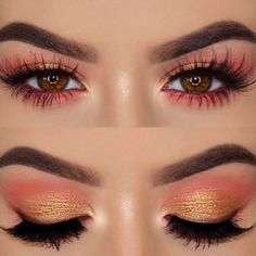 Bronze and Copper Eyeshadows Look Perfect picture 2