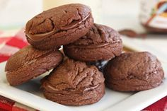 4 Ingredient Nutella Cookies from ourbestbites.com. I *must* make these.
