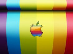 Apple Rainbow  http://www.graphicmania.net/25-stunning-mac-wallpaper/