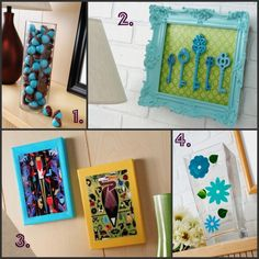 Fun things to do with Mod Podge. Who doesn't LOVE Mod Podge? You can even make your own Mod Podge and use that, instead.