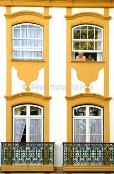 Historical center of Angra do Heroísmo, a UNESCO World Heritage Site. Terceira, Azores islands, Portugal