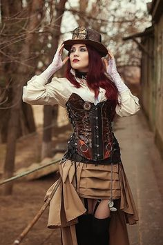 1000 Images About Women 39 S Steampunk Fashions On Pinterest Steampunk Steampunk Fashion And