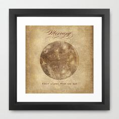 First Planet  Framed Art Print