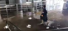 #kevelair Conducto de agua roto obliga a suspender llegada de vuelos al aeropuerto JFK #kevelairamerica