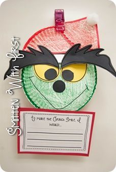 Smitten with First: Grinch Freebies! Christmas Activities, Christmas Themes, Holiday Crafts, Holiday Fun, Classroom Activities, Holiday Ideas, Classroom Ideas, Preschool Christmas, Kids Christmas
