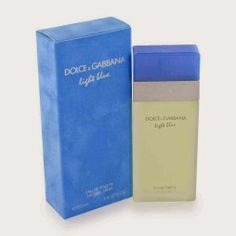 Dolce & Gabbana Light Blue Eau De Toilette Perfume for Women. This is one of my absolute favorites. I get lots of compliments. Light Blue Dolce Gabbana, Dolce & Gabbana, Dolce And Gabbana Perfume, Perfume 212, Perfume And Cologne, Best Perfume, Coach Perfume, Happy Perfume, Men's Cologne
