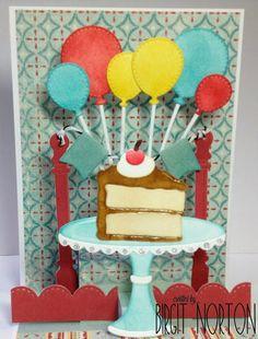 Crafting While I Wait: Dies R Us ~ Birthday Pop-Up