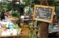 I don't even have a garden but Petersham Nurseries is definitely worth a visit for a good cuppa and cake