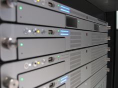 Apple XServe server stack